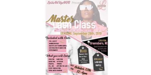 GREENSBORO MASTER LASH CLASS - GHOE