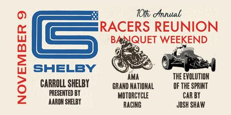 RACERS REUNION BANQUET 2019 tickets