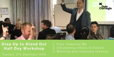 Step Up to Stand Out - Brisbane Half Day Workshop