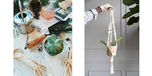 Macramé Plant Holder Workshop with ATL Macramé Co.