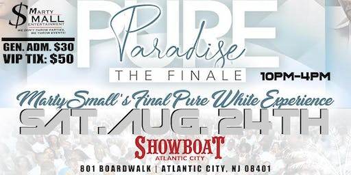 MARTY SMALL'S PURE PARADISE ALL WHITE PARTY GRAND FINALE