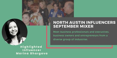 North Austin Influencers September Mixer tickets