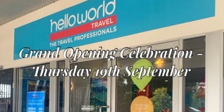 Helloworld Cooroy - Official Opening Party tickets