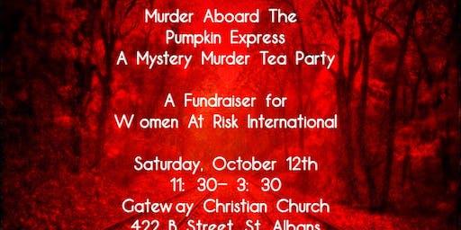 Murder Aboard The Pumpkin Express