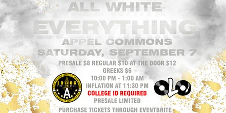ALPHA CHAPTER : ALL WHITE EVERYTHING 2019 tickets