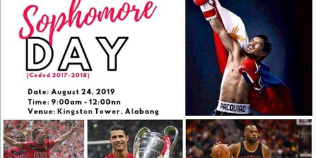 South Luzon Sophomore Day tickets
