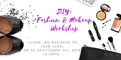 DIY: Fashion & Makeup Workshop + Photo shooting