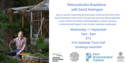 Retrosuburbia Roadshow with David Holmgren