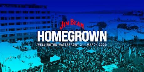 Jim Beam Homegrown 2020 tickets