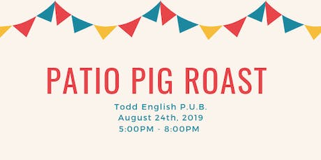 Patio Pig Roast tickets