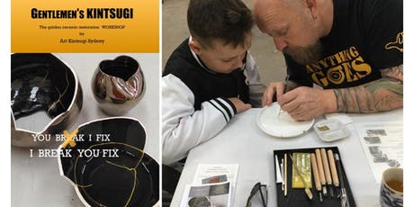 Father's Day Kintsugi Pop Up Workshop  tickets