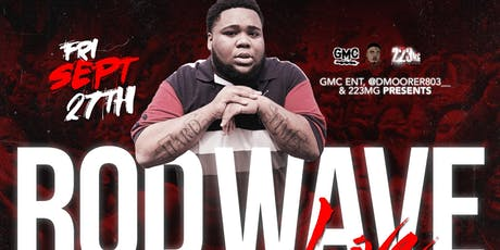 ROD WAVE PERFORMING LIVE (CHARLESTON, SC) tickets