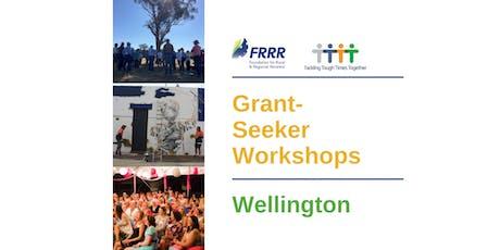 Free grant-seeker workshop - Wellington tickets