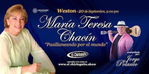 María Teresa Chacín @ El Chiringuito
