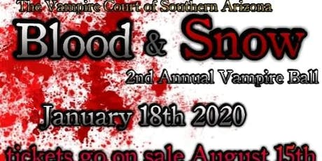 Second Annual Blood & Snow Vampire Ball tickets