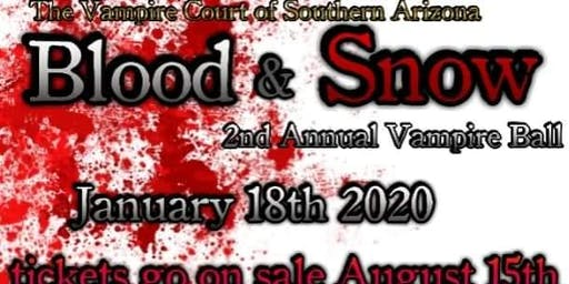 Second Annual Blood & Snow Vampire Ball