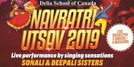 Delia School of Canada Navratri Utsav 2019 tickets