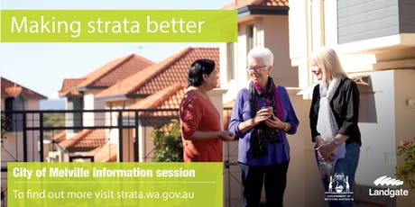 City of Melville - making strata better overview tickets