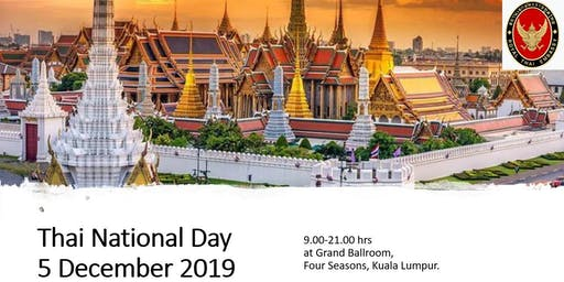 The National Day of the Kingdom of Thailand 2019