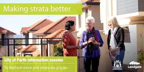 City of Perth - making strata better overview tickets