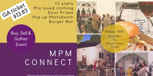 MPM CONNECT - BUY, SELL & GATHER OCTOBER EVENT - GENERAL ADMISSION TICKET