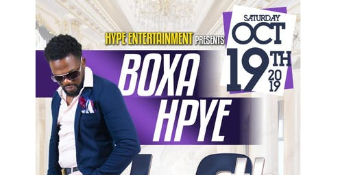 BOXA HYPE 40TH BIRTHDAY PARTY OCT, 19,2019