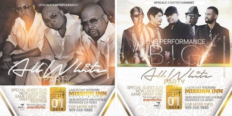Upscale3Ent Ultimate White Linen Party 2019 tickets