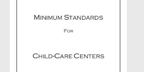 Spring- August 31 Great Training to Include Minimum Standards for Caregivers tickets