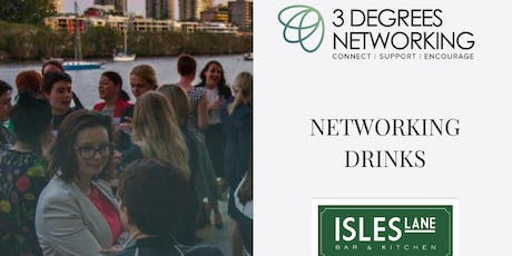 3 Degrees Networking Drinks  tickets