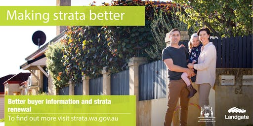 Better buyer information and strata renewal in focus session