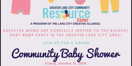 2ND ANNUAL GRAND COMMUNITY BABY SHOWER tickets