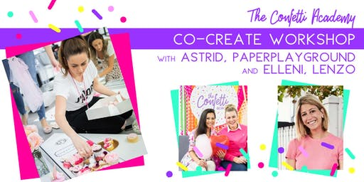 The Confetti Academy Co-Create Workshop