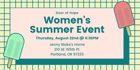DoH Women's August Get Together tickets