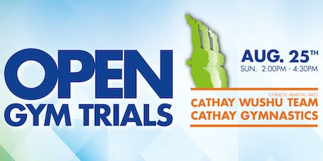 Cathay Gym Trials tickets