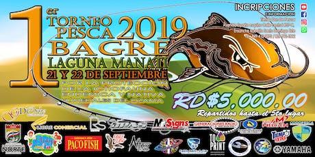 1er. Torneo Pesca Bagre 2019. tickets