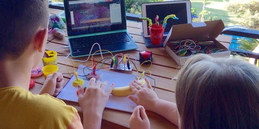 Kids Spring School Holiday Event: Makey Makey (for school years 3-6)