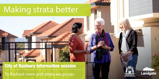 City of Bunbury - making strata better overview