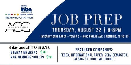 NBMBAA Memphis - Job Prep Event tickets