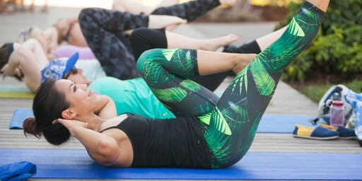 barre3 @ Frances Anderson Center (outdoor amphitheater)