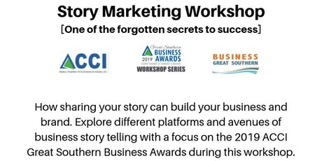 Story Marketing Workshop - with Business Great Southern tickets