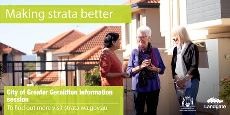 City of Greater Geraldton - making strata better overview tickets