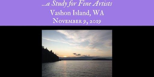 Vashon Island!~ Gilding for Works of Art for Fine Artists