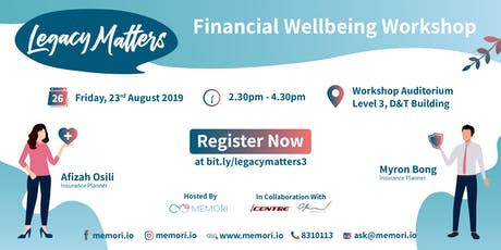 Legacy Matters: Financial Wellbeing Workshop tickets