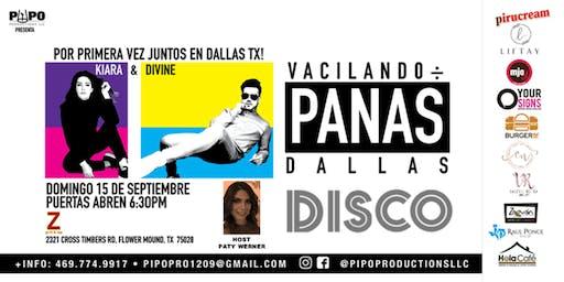 VACILANDO ENTRE PANAS - DIVINE & KIARA -DALLAS TX
