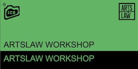 I.C.E. & ArtsLaw - Workshop for Screen tickets