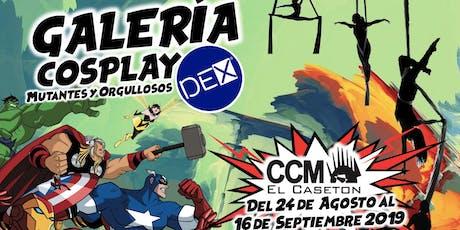 """Galería Cosplay  Mutantes y Orgullosos - """"El Casetón""""/ DEX Hunters entradas"""