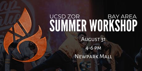 UCSD ZOR Bay Area Workshop tickets