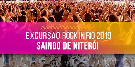 Rock in Rio 2019 - Excursão saindo de Niterói! ingressos