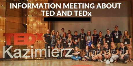 Info meeting about TED and local TEDx-es in Poland tickets
