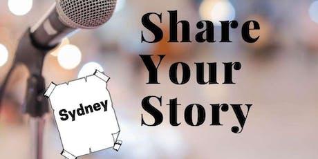 Storytelling Workshop - Share Your Story Sydney tickets